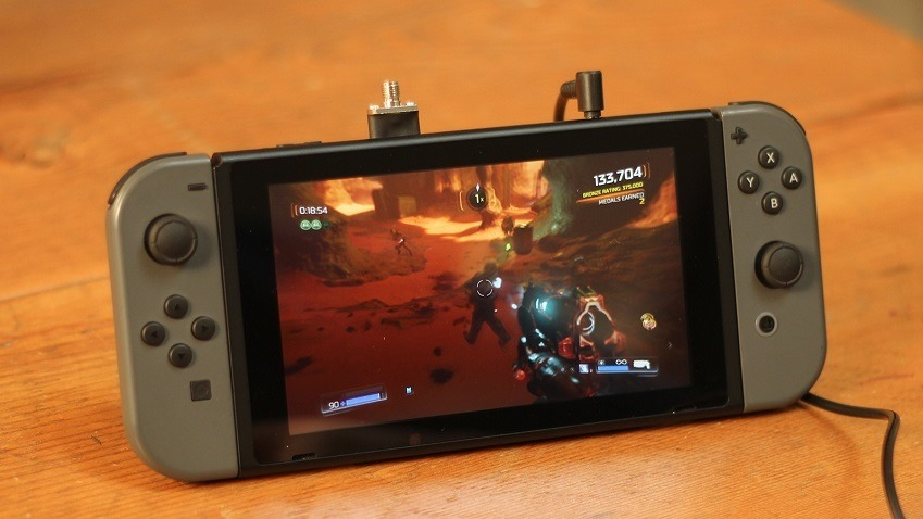 DOOM gets release date on Switch