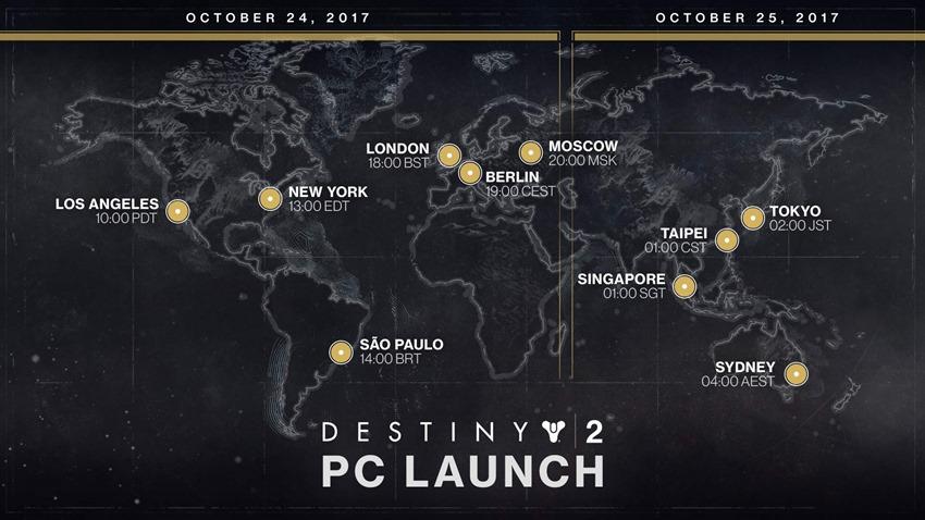 Destiny-2-PC-launch-time