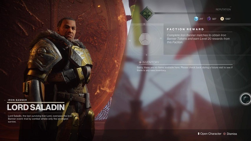 Destiny 2 features a neat Iron Banner Overwatch reference