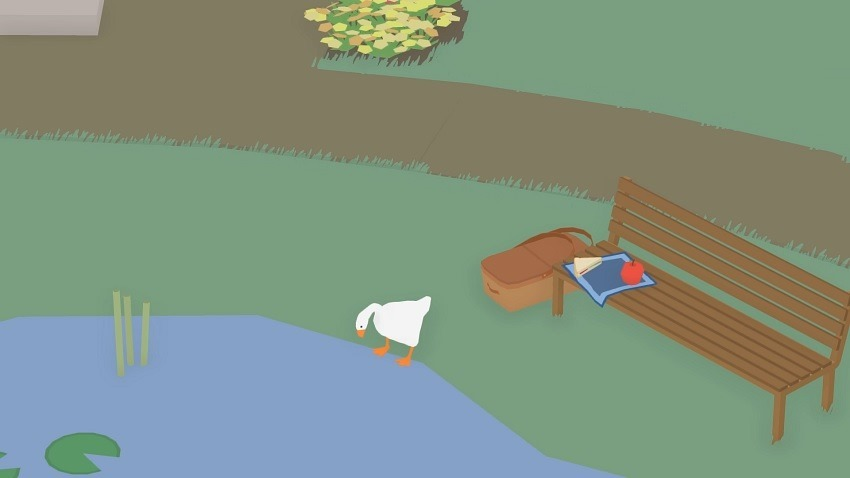 New goose game is ridiculous and funny