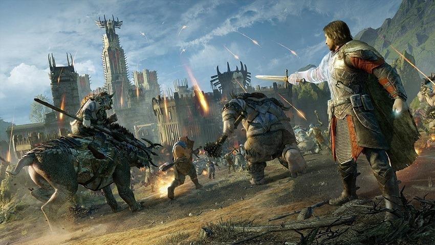 Shadow of War looks insane on Xbox One X