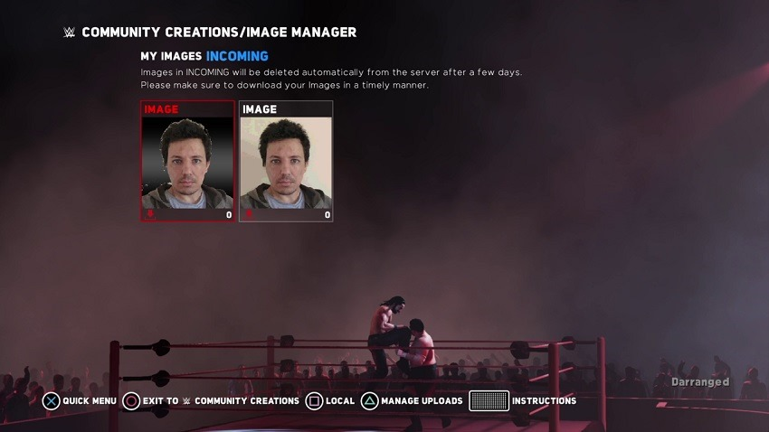 WWE Face 2