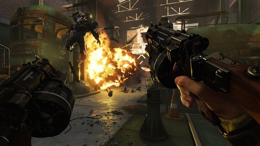 Wolfenstein II's new launch trailer is about getting rid of hate groups
