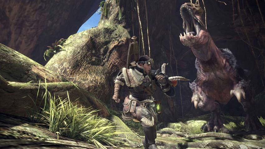 Download the Monster Hunter World day one patch or risk