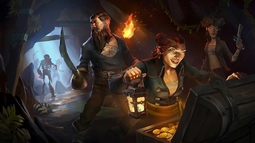 Sea of Thieves is beautifully idiotic, and that's fantastic