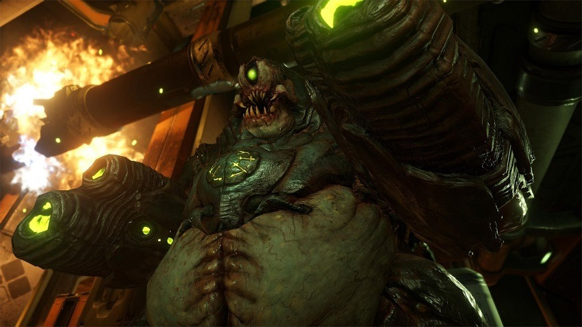 DOOM gets motion controls on Switch