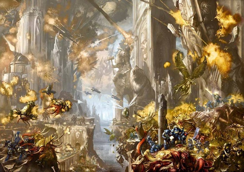 There Is Only War! - A Beginner's Guide to Warhammer 40K