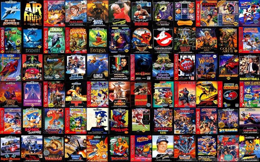 Sega Megadrive (1)