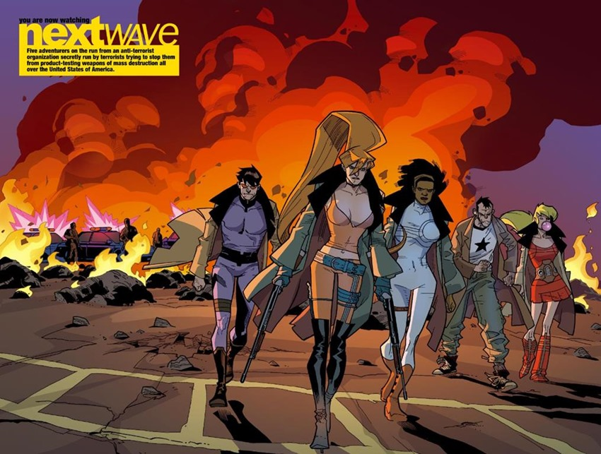 nextwave agents of hate