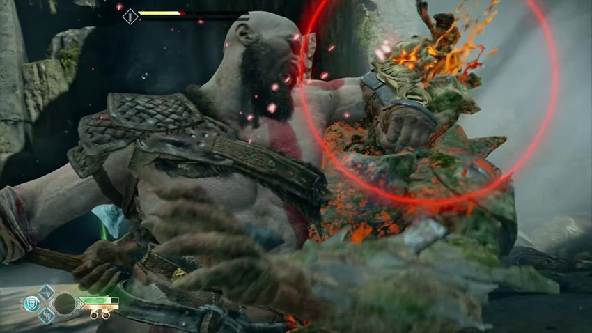 New God of War footage shows plenty of troll and giant