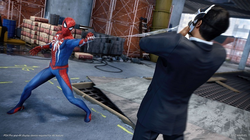Spider-Man has a plethora of gadgets 3