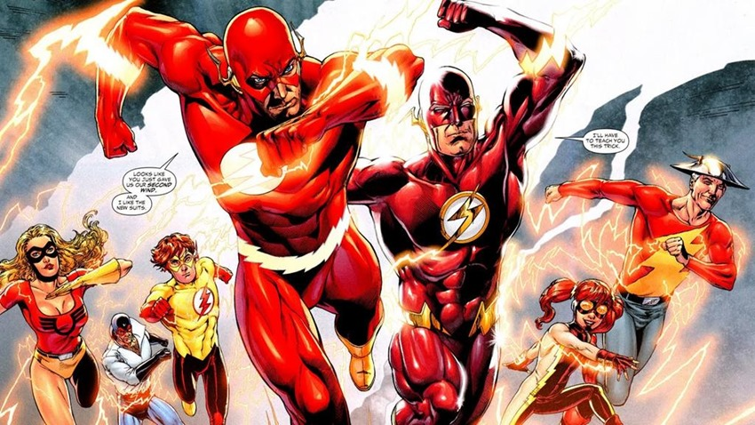 The Flash Speed Force (3)