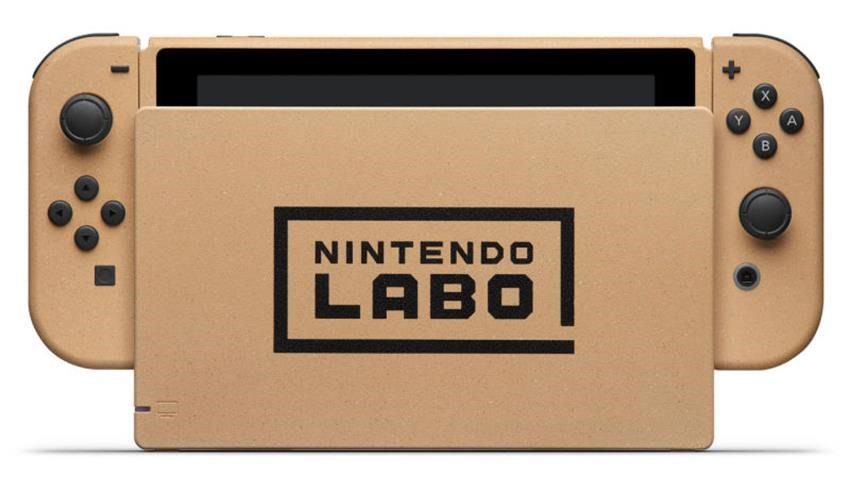 Nintendo making a Labo themed Switch 3