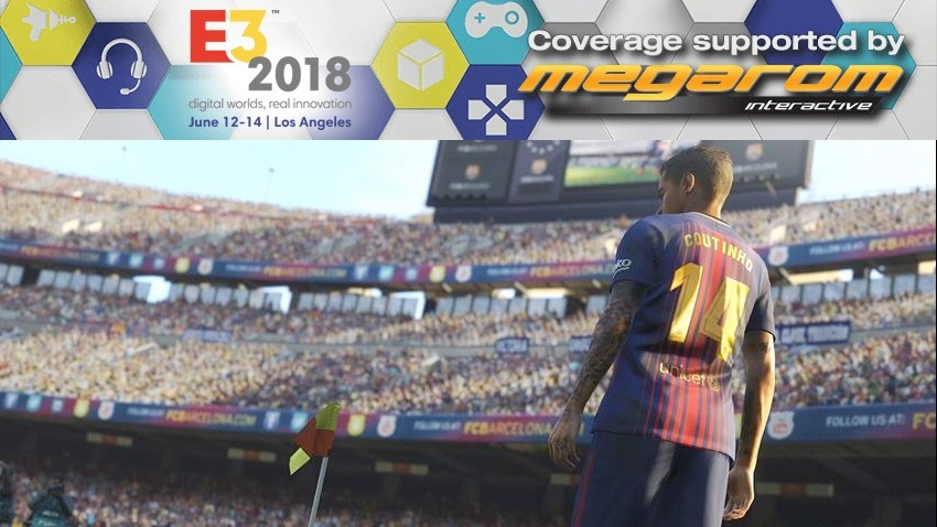 PES 2019 E3 2018 hands-on 2