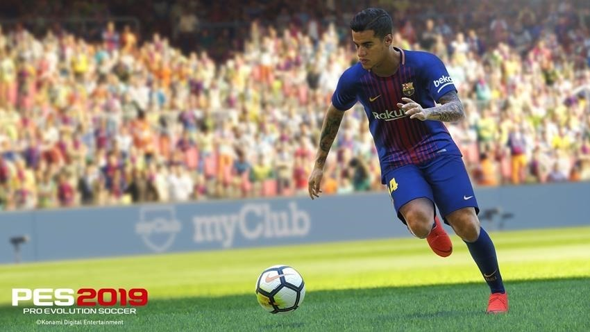 PES 2019 E3 2018 hands-on 3