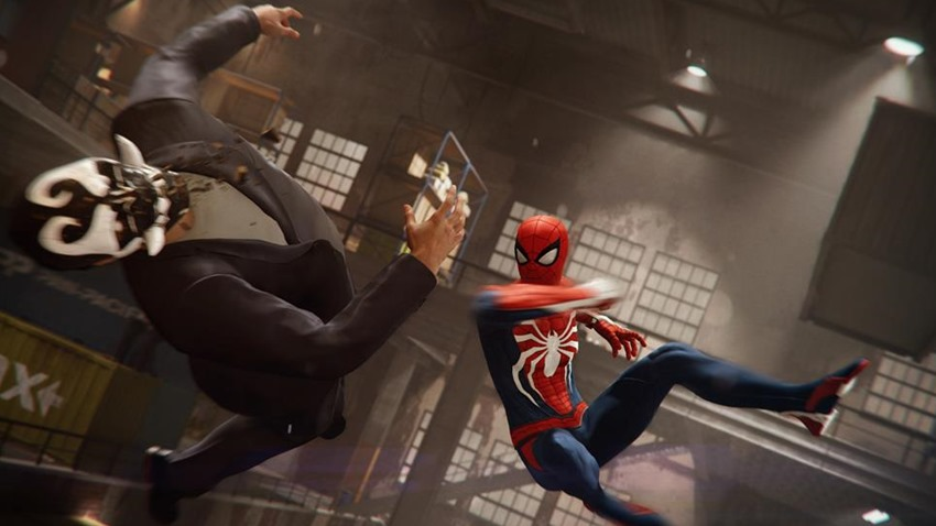 Spider Man PS4 Screen 2