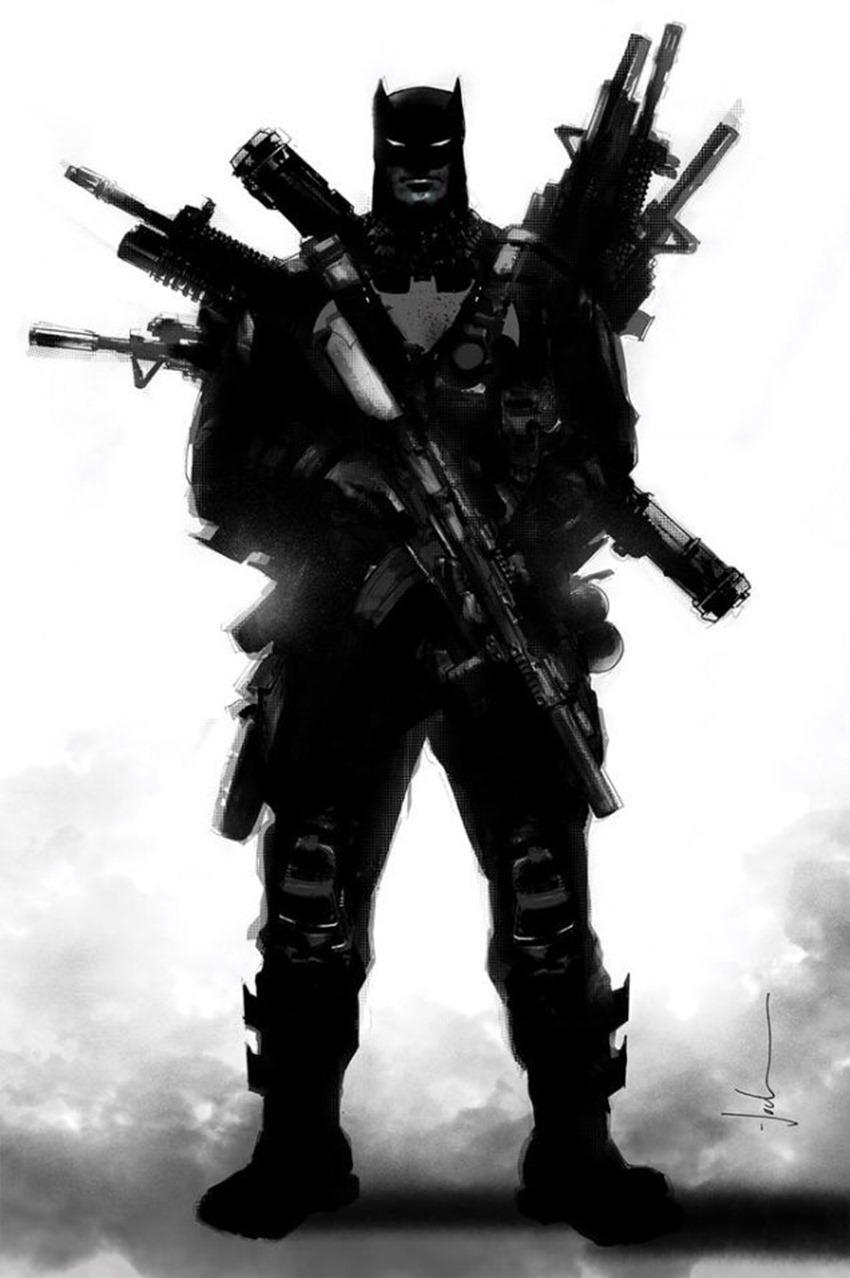 Batman guns