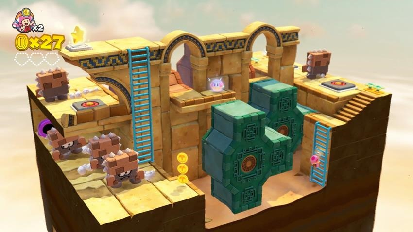Captain Toad Treasure Tracker Review 3