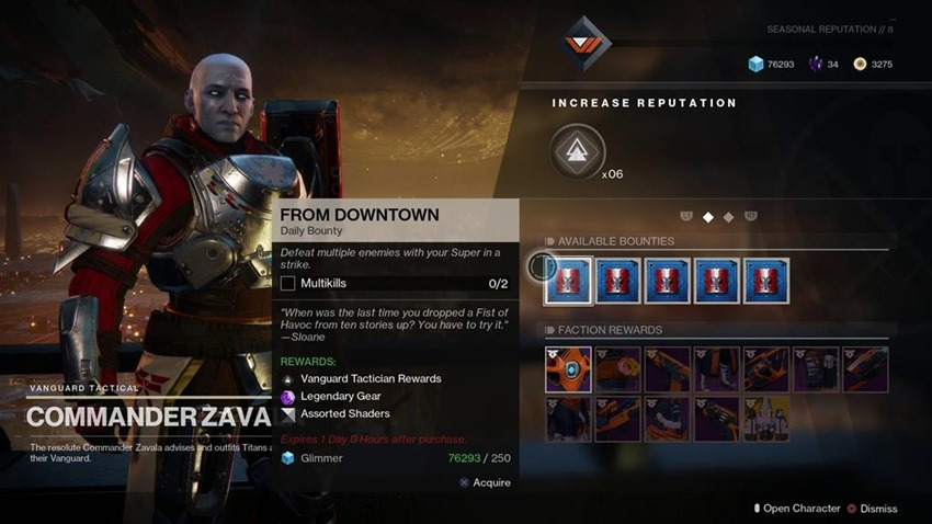 Here's how bounties work in Destiny 2 - Critical Hit