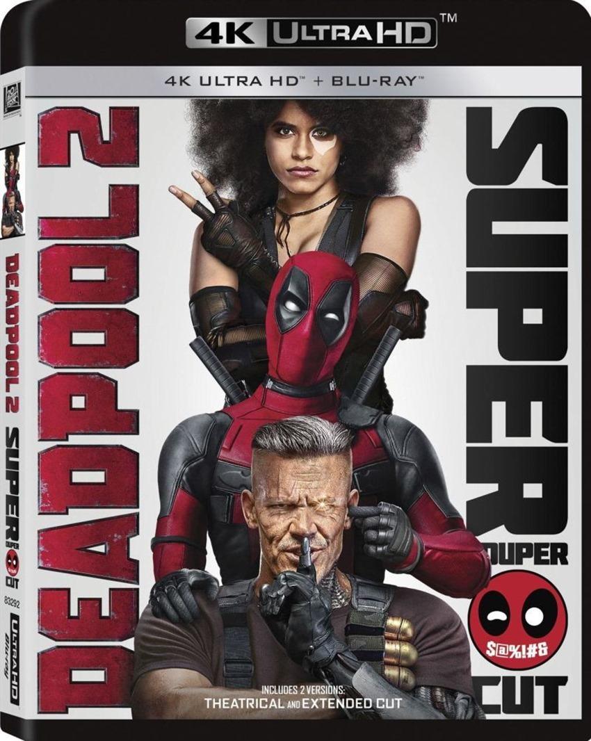 Deadpool 2 dvd cover