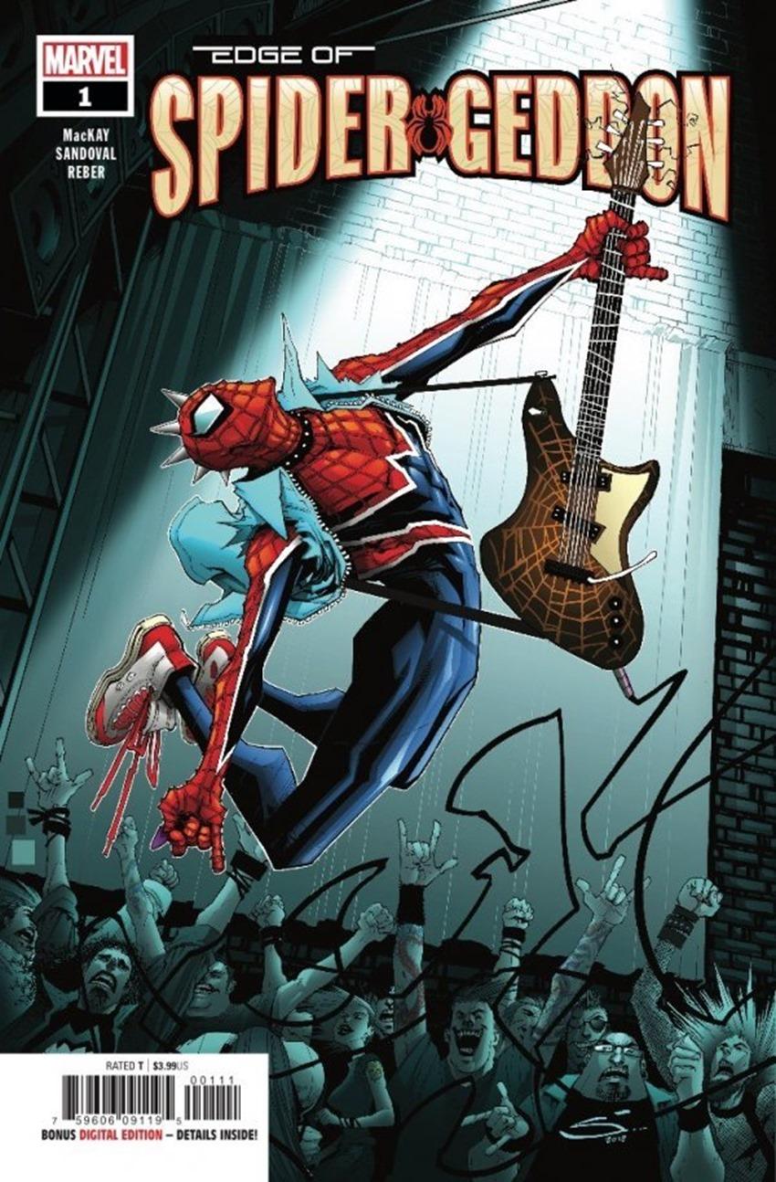 Edge of Spider-Geddon #1