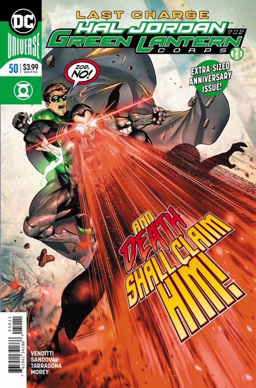 Hal Jordan and the Green Lantern Corps #50