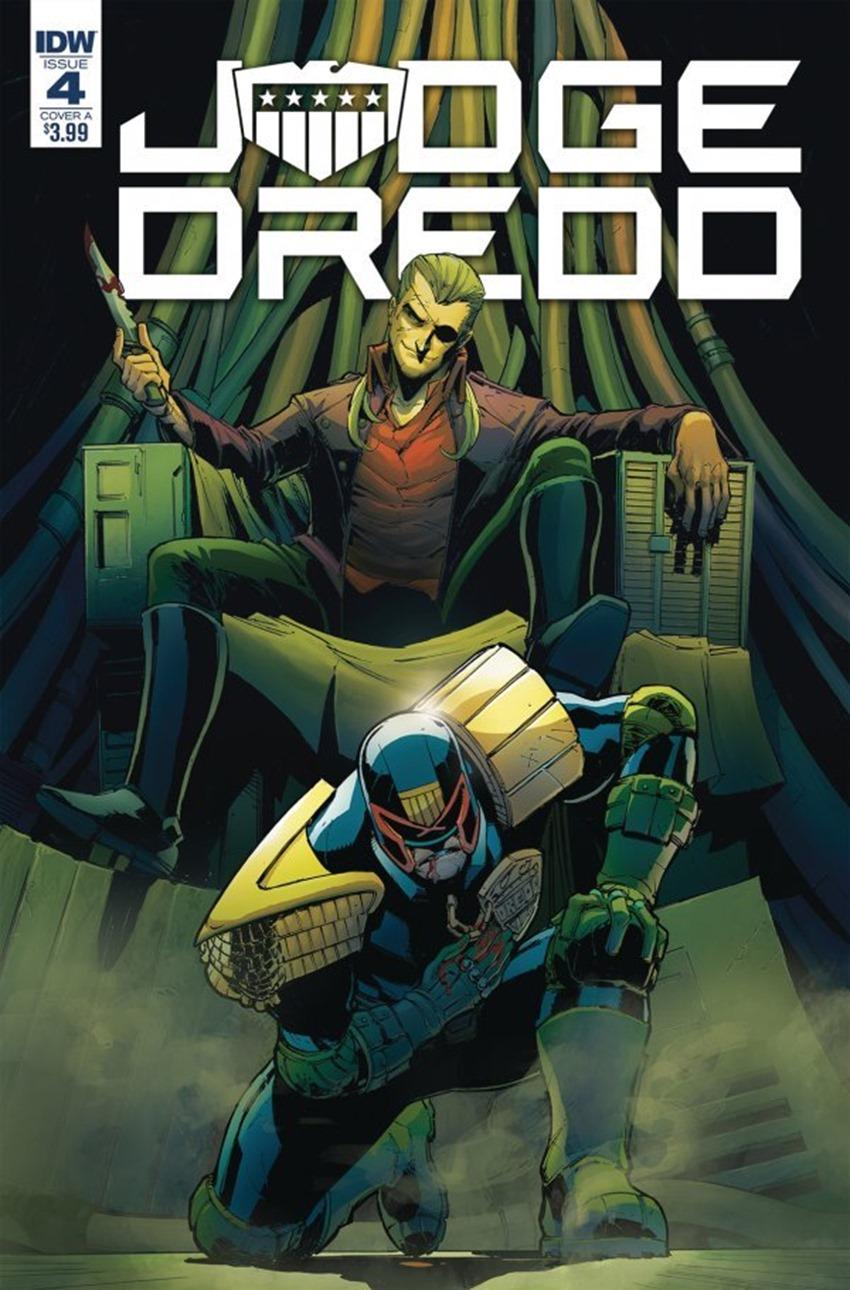 Judge Dredd Under Siege #4