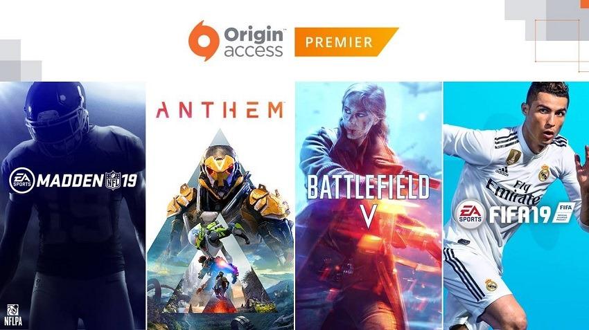 EA's Origin Access Premier service is now live, but not