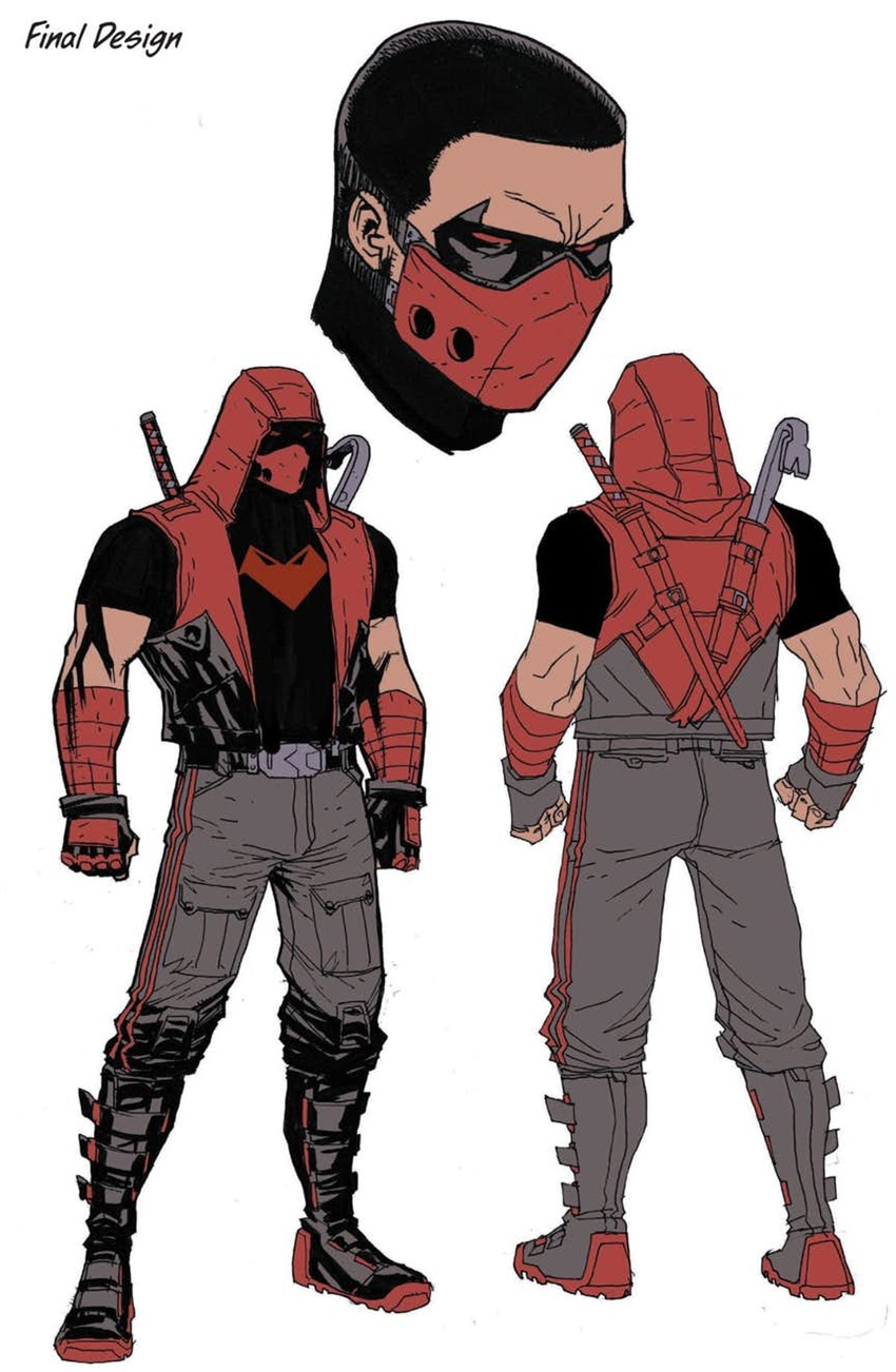 Jason Todd is getting a new Red Hood costume and direction