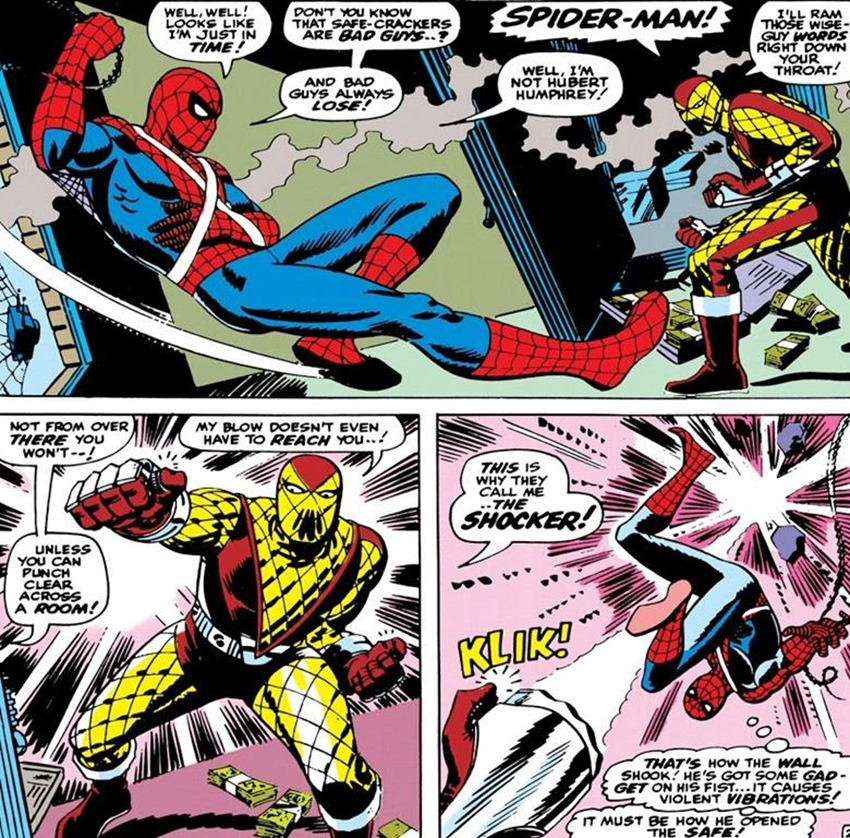 Know the foes of Marvel's Spider-Man - Meet the Shocker