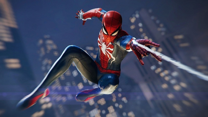 Spider-Man PS4 gets a stunning new gameplay strailer