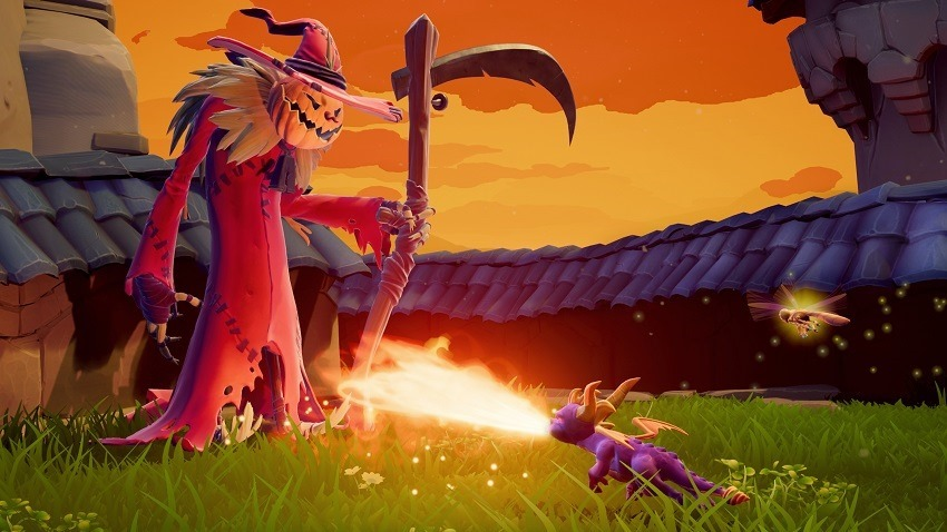 Spyro reignited will require a donwload on disc 2