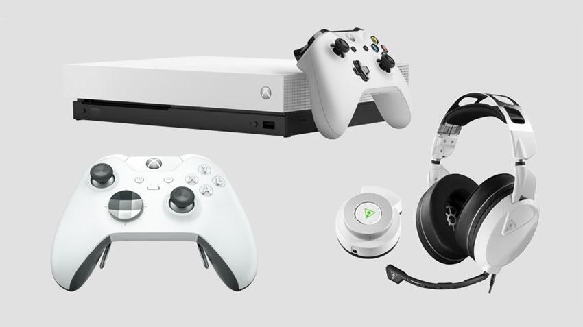 Xbox One X White 2