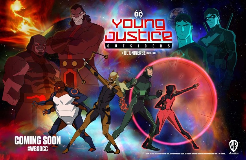 Young Justice Outsiders (2)