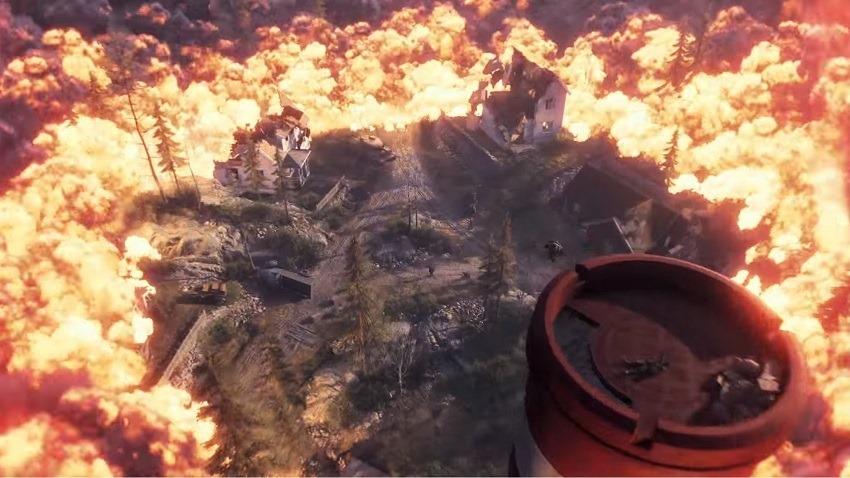 Battlefield V's Battle Royale is called Firestorm