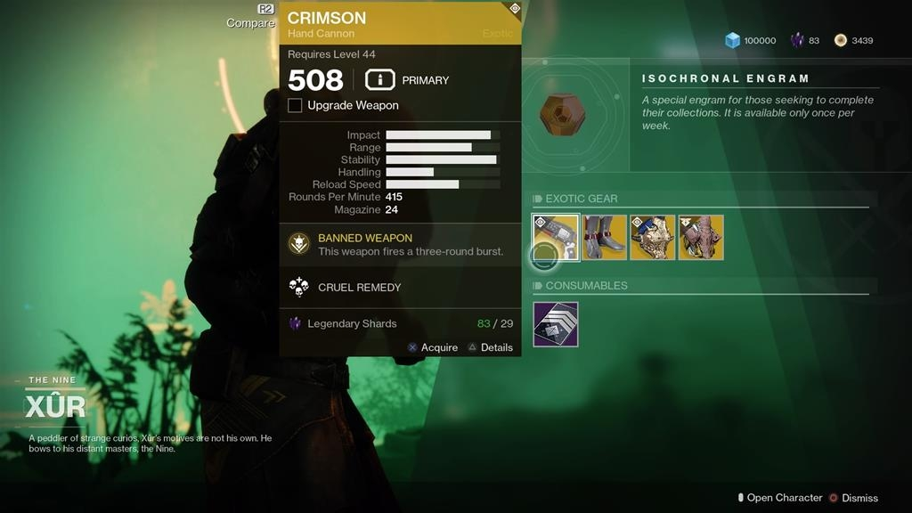 Destiny 2: Where is Xur (and whats he got for sale?) – 21