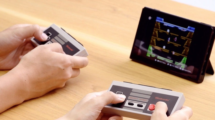 Nintendo Switch NES controllers and Online Service detailed