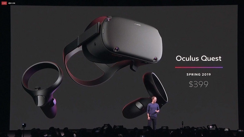Oculus Quest is a new generation for VR