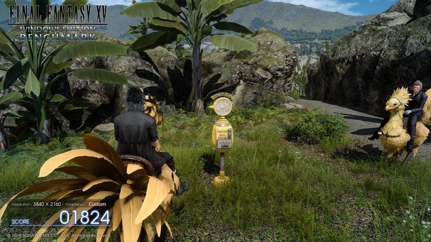 Final Fantasy DLSS Benchmark 4