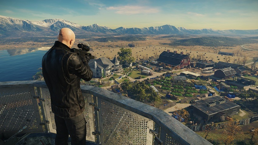 Hitman 2 is making its Sniper Assassin a fully-fledged co