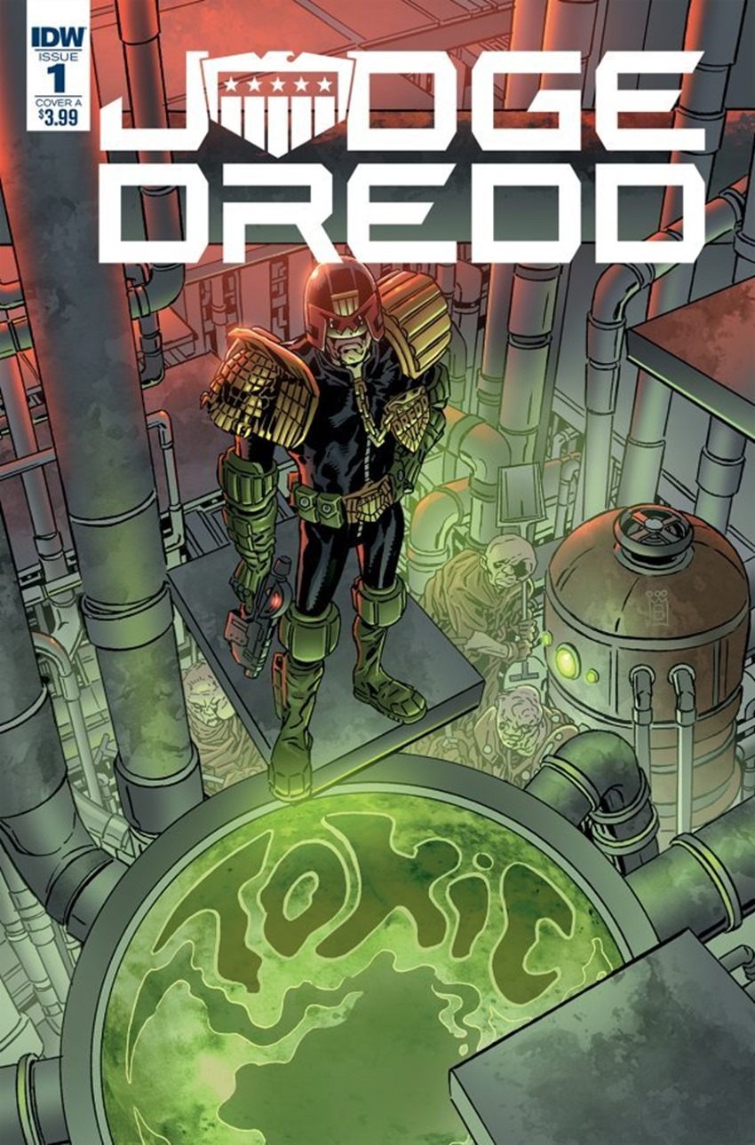 Judge Dredd Toxic! #1