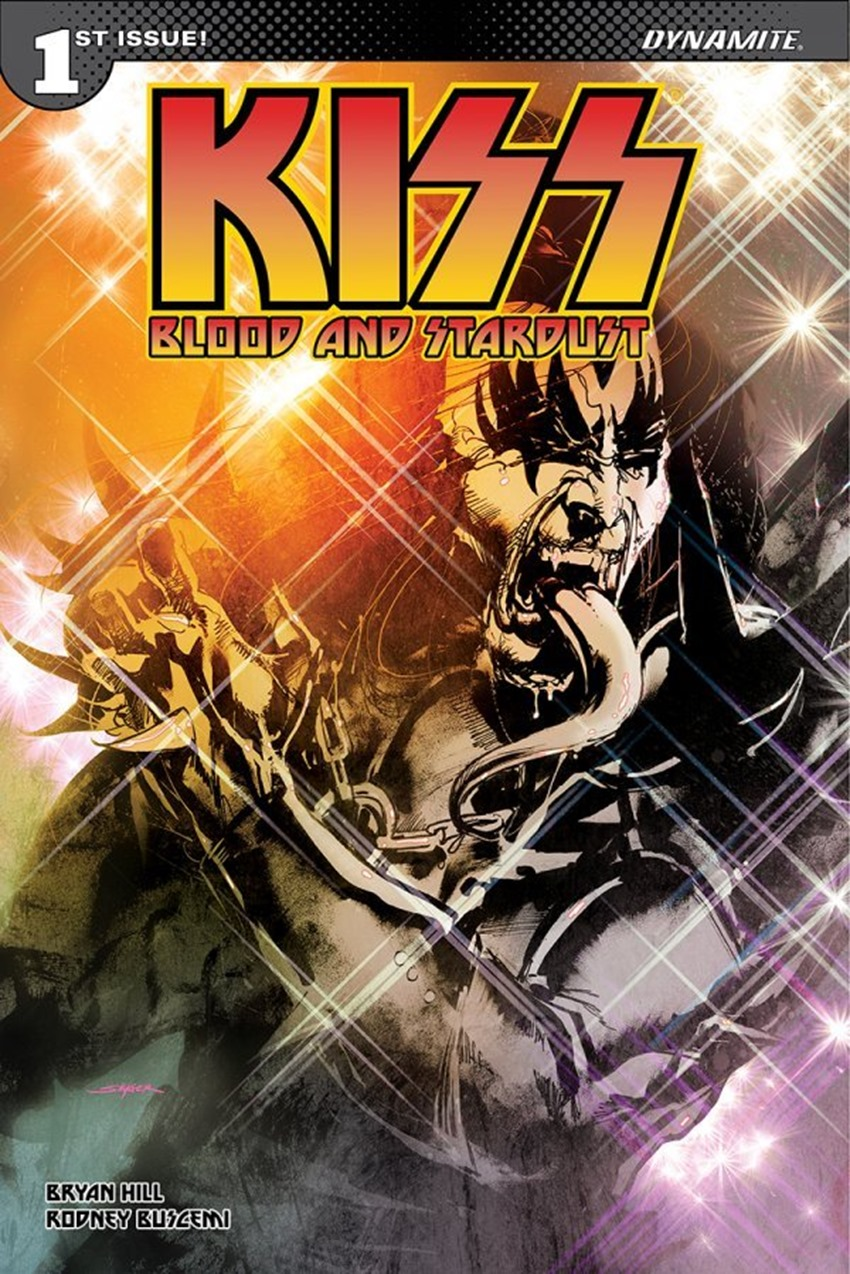 Kiss Blood And Stardust #1 A