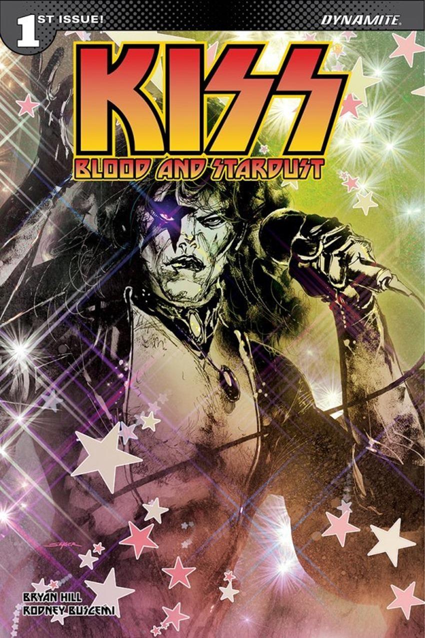 Kiss Blood And Stardust #1 B