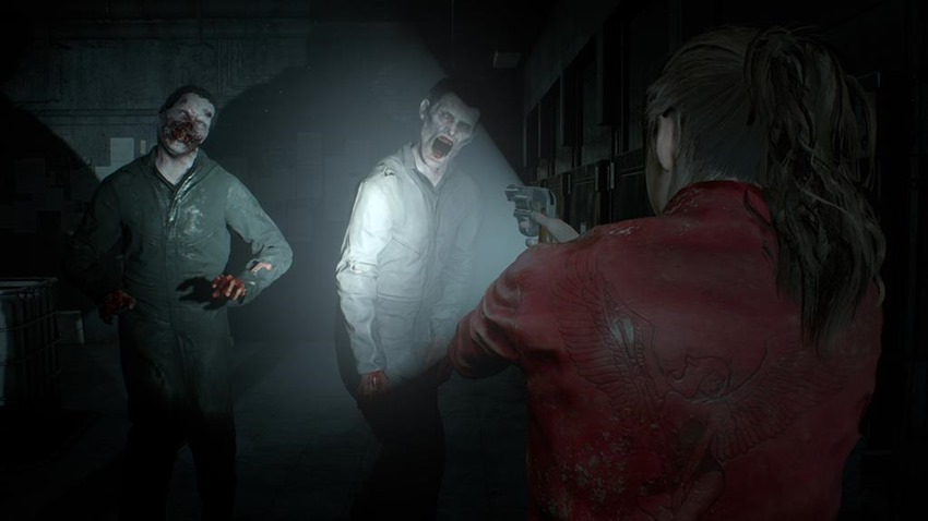 Resident Evil 2 Lickers (2)