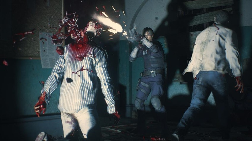 Resident Evil 2 Lickers (6)