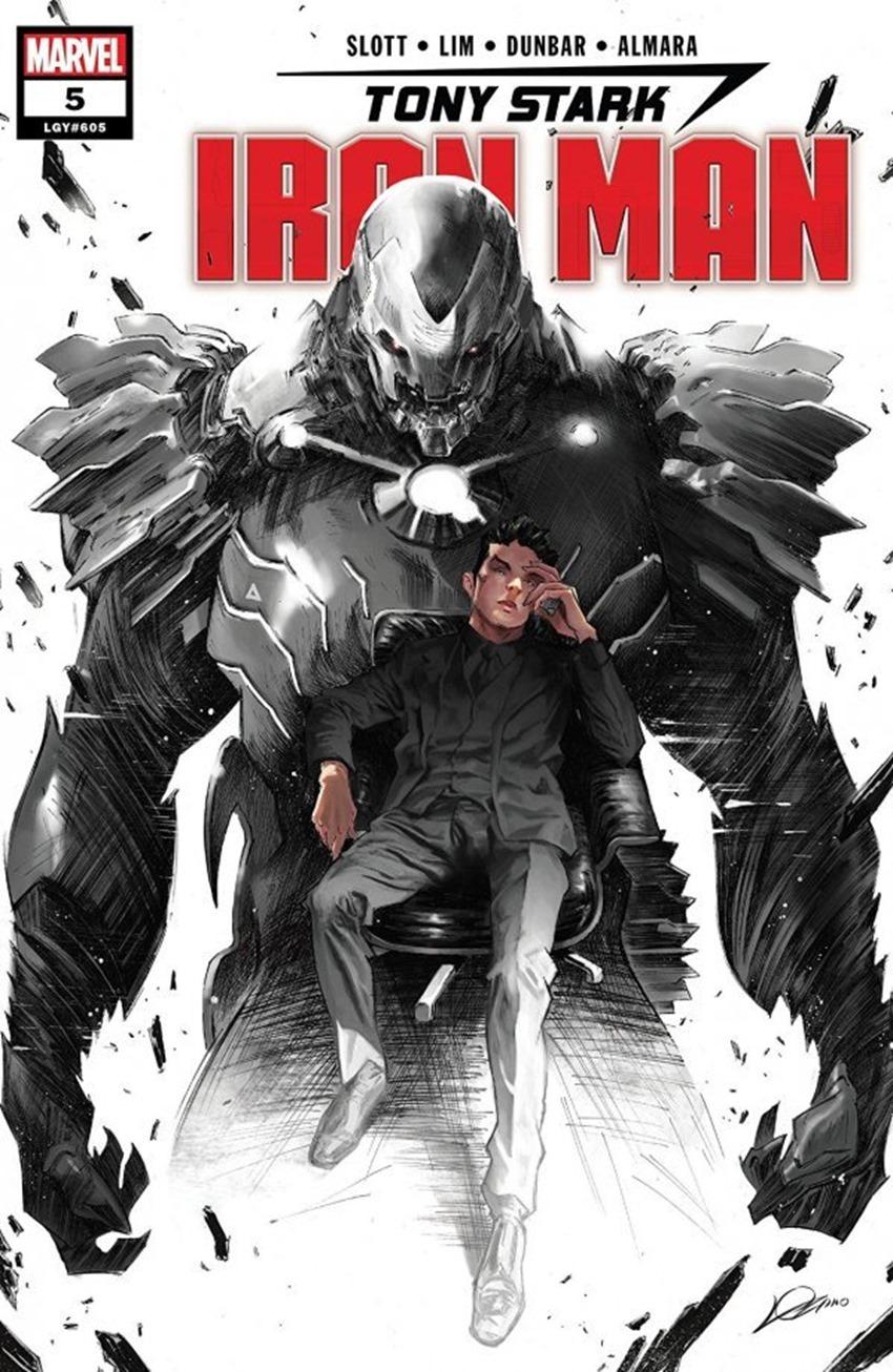 Tony Stark Iron Man #5