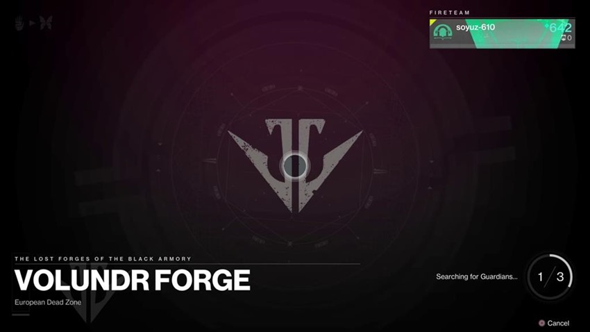 Destiny Black Armory Lost forge (2)