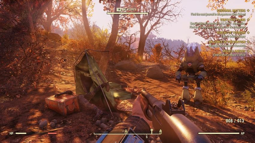 Fallout 76 Review - Mutually Assured Boredom - Critical Hit