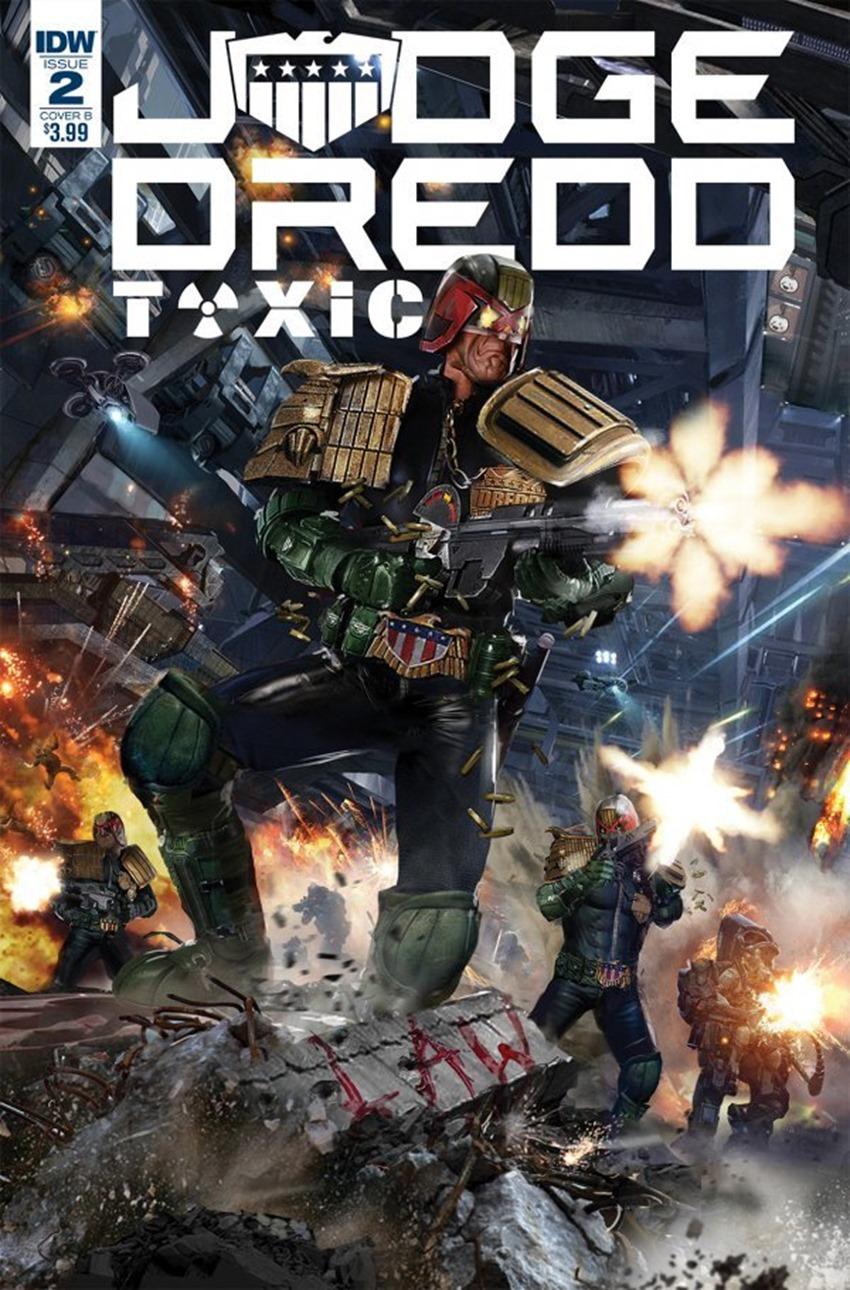 Judge Dredd Toxic #2