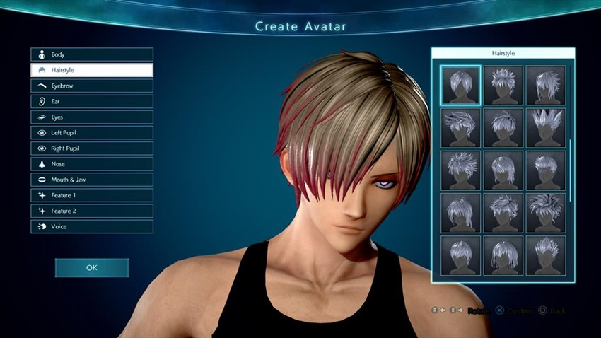 Jump Force character creator will allow you to create the